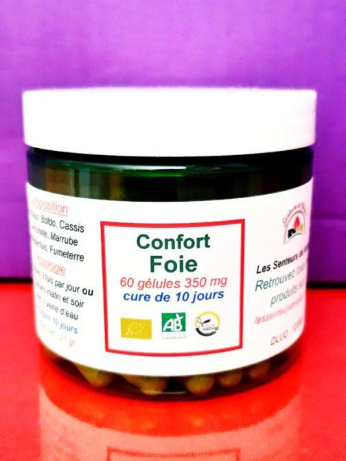 boites de gélules pour le foie
