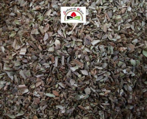 feuilles d'origan coupées pour la cuisine
