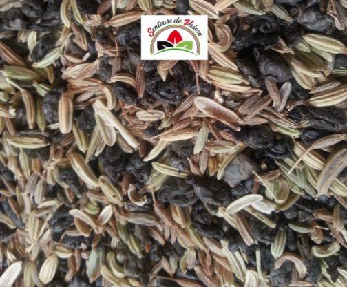 tisane drainante avec du thé vert