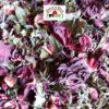 tisane avec fleurd d'hibiscus et feuilles de menthe