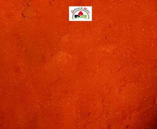 poudre de piment fort rouge