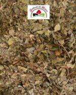 feuilles de murier coupées