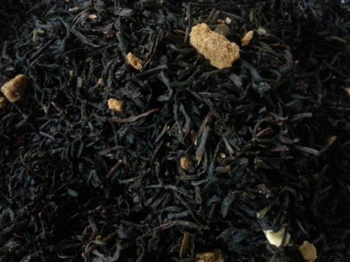 thé noir en vrac parfum spéculoos