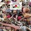 mélange de plantes, épices et fleurs pour la digestion