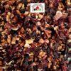 tisane avec fruits exotiques et hibiscus bio