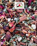 mélange de plantes et épices pour une tisane de Noël
