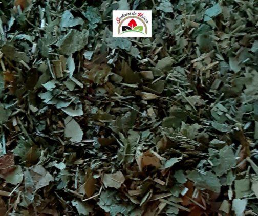 mélange de plantes coupées pour infusion prostate